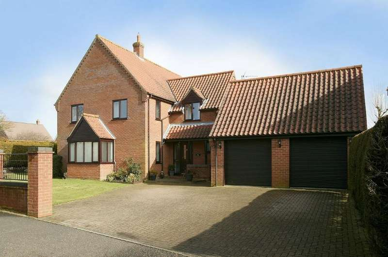 4 Bedrooms Detached House for sale in Paget Adams Drive, Dereham