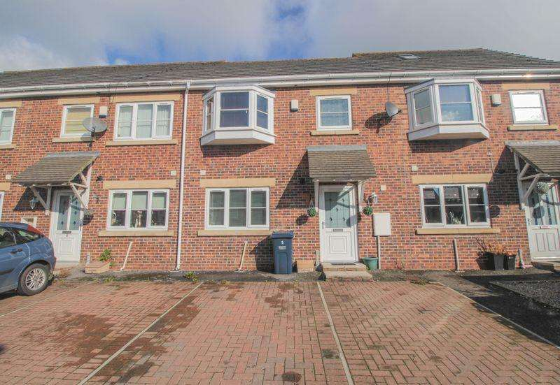 2 Bedrooms Terraced House for sale in Monument Court, Chopwell