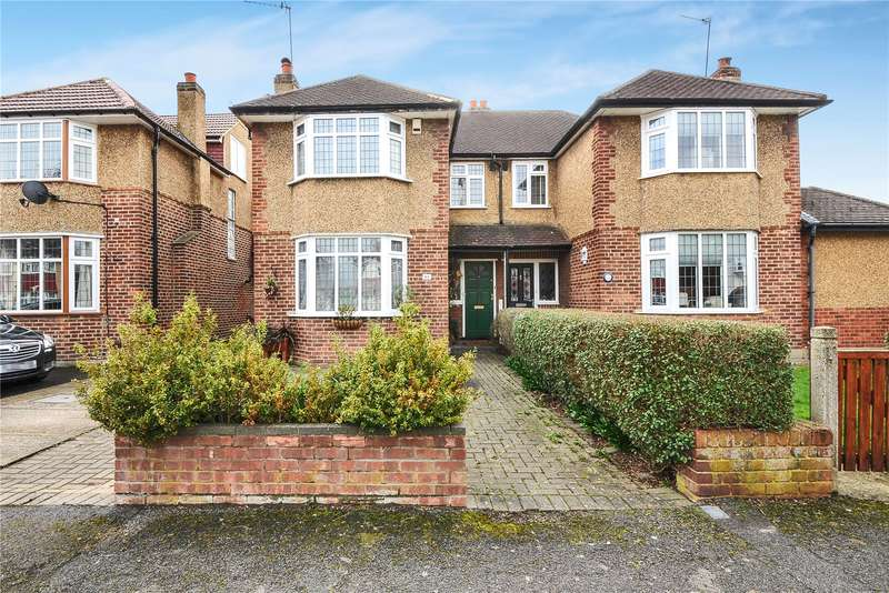 3 Bedrooms Semi Detached House for sale in Hillcroft Crescent, Ruislip, Middlesex, HA4