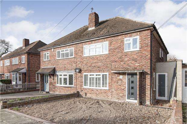 4 Bedrooms Semi Detached House for sale in Windsor Drive, ORPINGTON, Kent, BR6