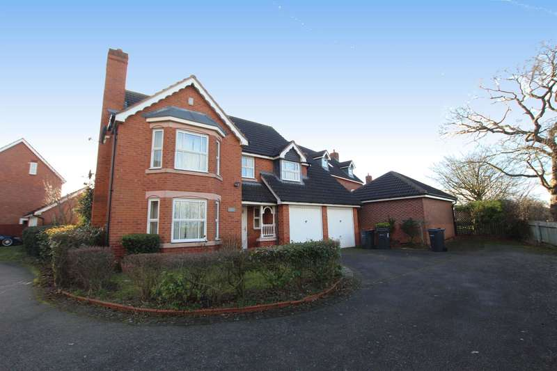 4 Bedrooms Detached House for sale in Infantry Place, Sutton Coldfield, B75 7HD