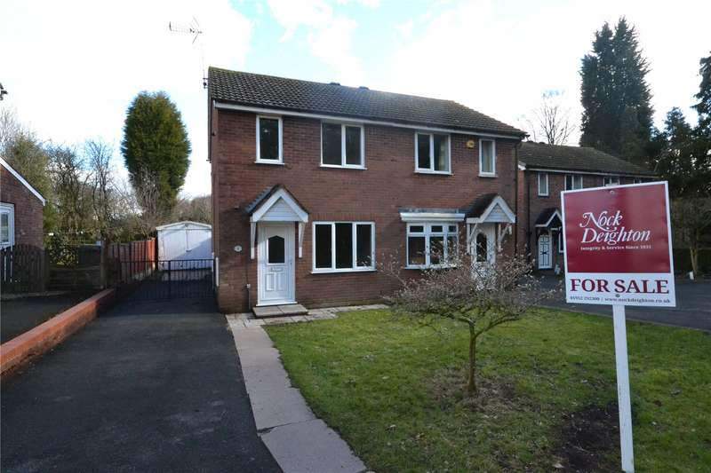 2 Bedrooms Semi Detached House for sale in 8 Hawthorne Close, Ketley Bank, Telford, TF2
