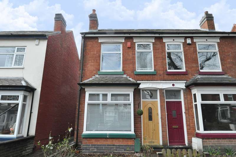 4 Bedrooms Semi Detached House for sale in Gristhorpe Road, Birmingham, B29