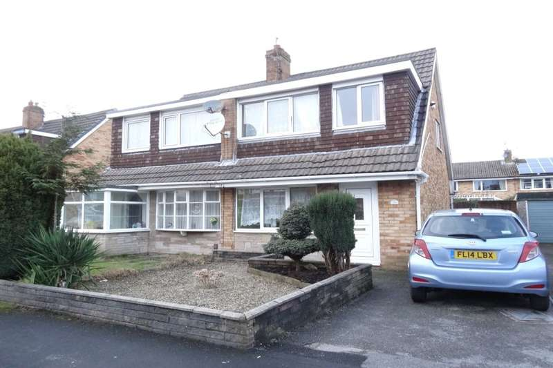 3 Bedrooms Semi Detached House for sale in Gatesgarth Avenue, Fulwood, Preston, PR2