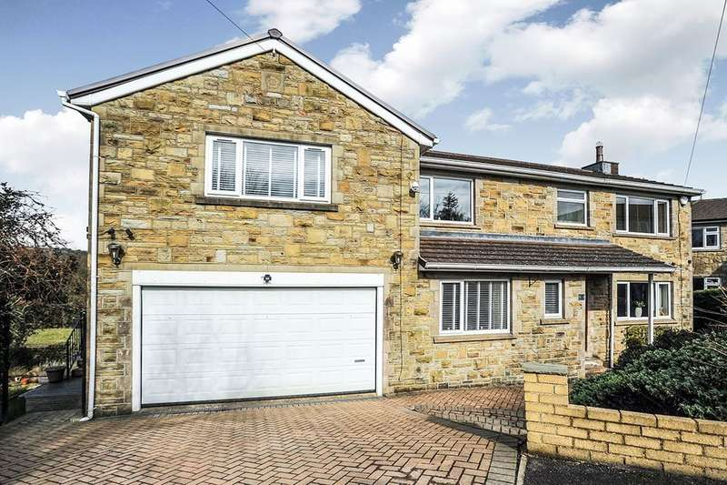 4 Bedrooms Detached House for sale in Lees Close, Cullingworth, Bradford, BD13