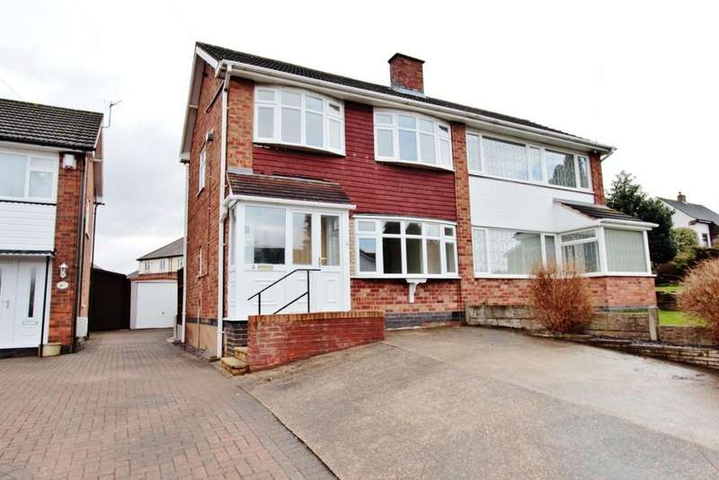 3 Bedrooms Semi Detached House for sale in Marlow Road, Bolehall