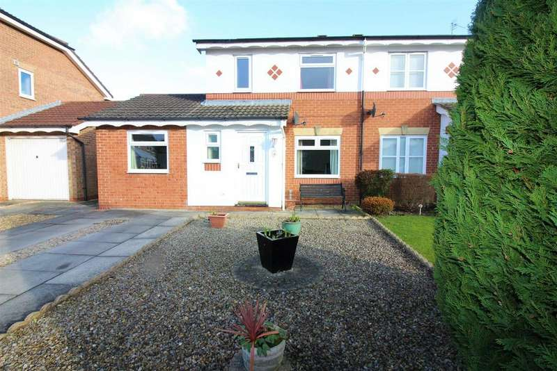 3 Bedrooms Semi Detached House for sale in Heathfield Park, Middleton St. George, Darlington