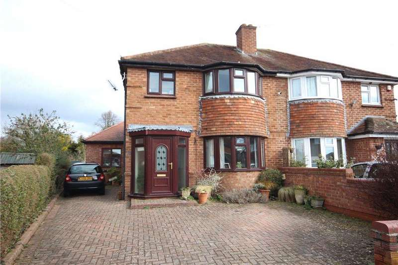 3 Bedrooms Semi Detached House for sale in Blenheim Road, Worcester, Worcestershire, WR2
