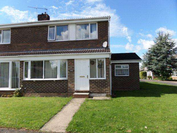 3 Bedrooms Semi Detached House for rent in BEACON AVENUE, SEDGEFIELD, SEDGEFIELD DISTRICT