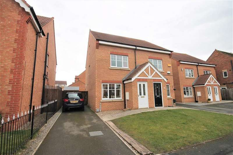3 Bedrooms Semi Detached House for sale in Hatchlands Park, Ingleby Barwick, Stockton-On-Tees