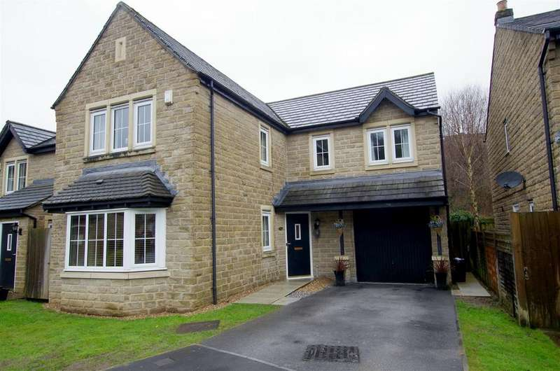4 Bedrooms Detached House for sale in Brookwater Close, Halifax