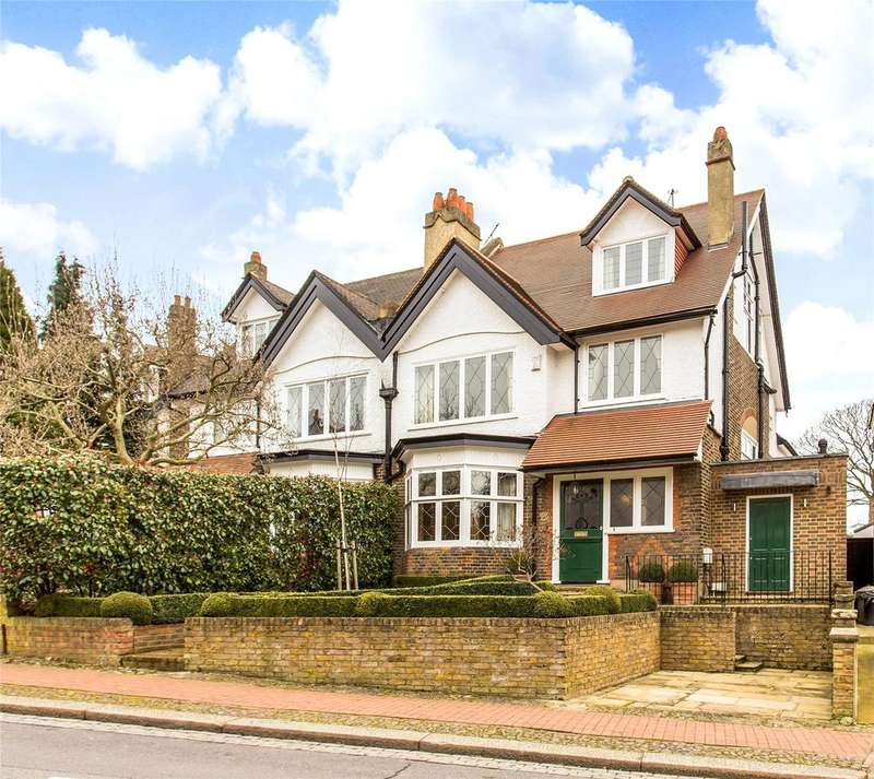 5 Bedrooms Semi Detached House for sale in Rodway Road, Putney, London, SW15