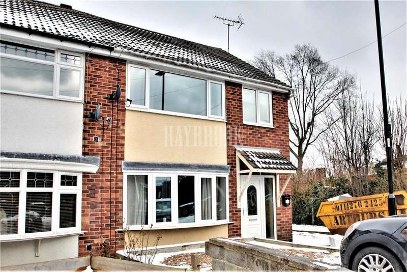 3 Bedrooms Semi Detached House for sale in Nursery Grove, Ecclesfield