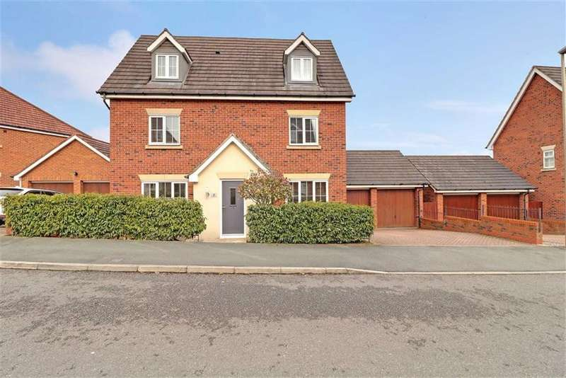 5 Bedrooms Detached House for sale in St. Augustines Drive, Weston, Crewe
