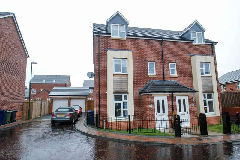 3 Bedrooms Town House for sale in Ryedale Way, South Shields