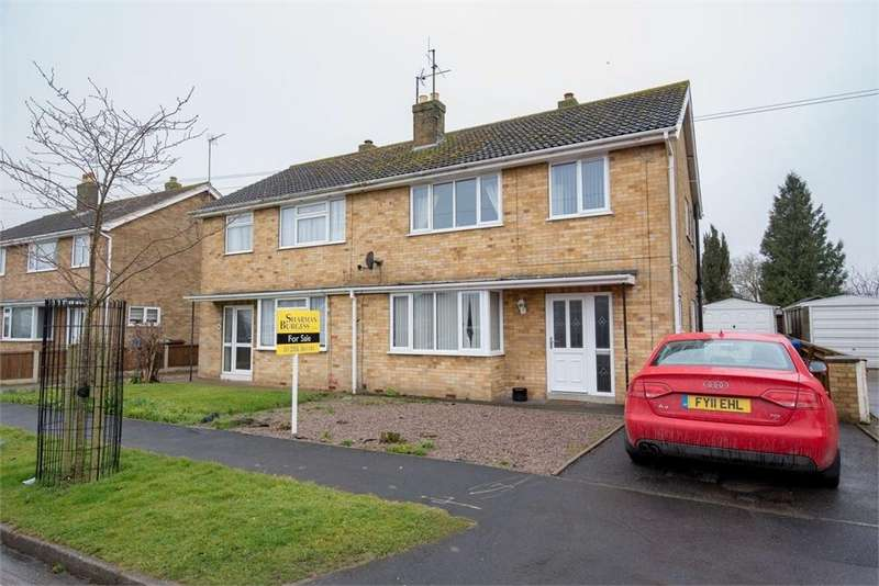3 Bedrooms Semi Detached House for sale in Deldale Road, Wyberton, Boston, Lincolnshire
