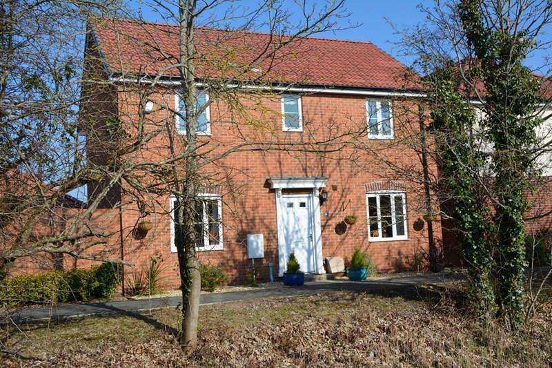 4 Bedrooms Detached House for sale in Hamley Close, Burnham-On-Sea