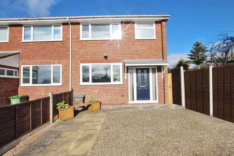 3 Bedrooms Semi Detached House for rent in Raglis Close, Redditch, B97 5RN
