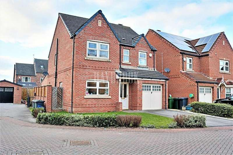 4 Bedrooms Detached House for sale in Roebuck Chase, Wath upon Dearne