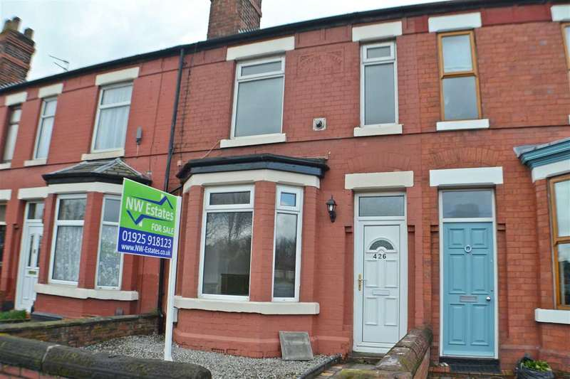 2 Bedrooms Terraced House for sale in Knutsford Road, Latchford, Warrington