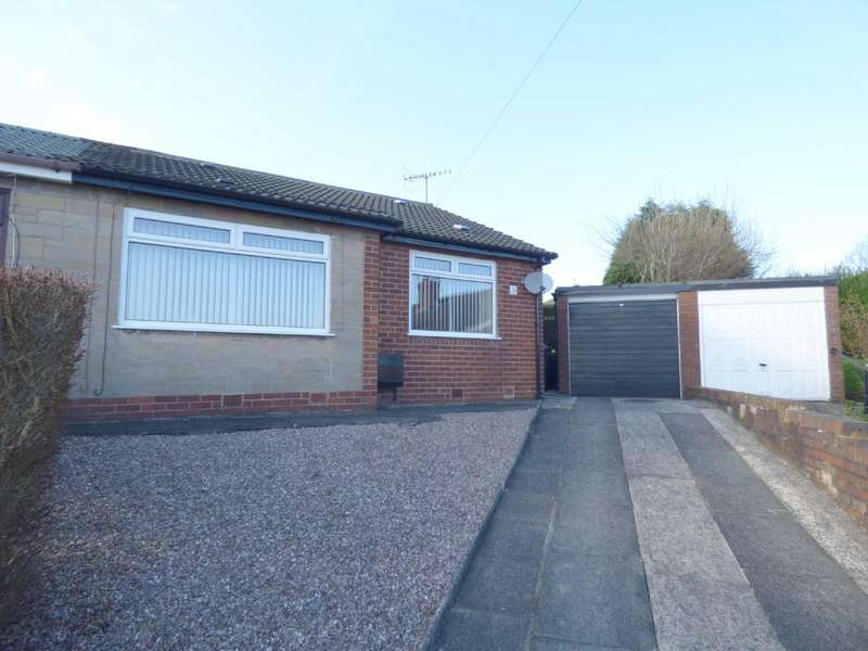 2 Bedrooms Semi Detached Bungalow for sale in Beaufont Drive, Roundthorn, Oldham, OL4