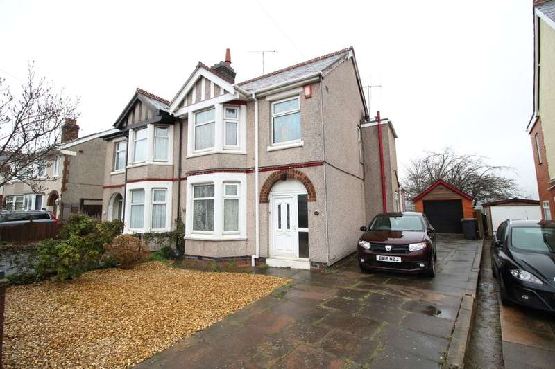 3 Bedrooms Semi Detached House for sale in Wheelwright Lane, Ash Green, Coventry, CV7