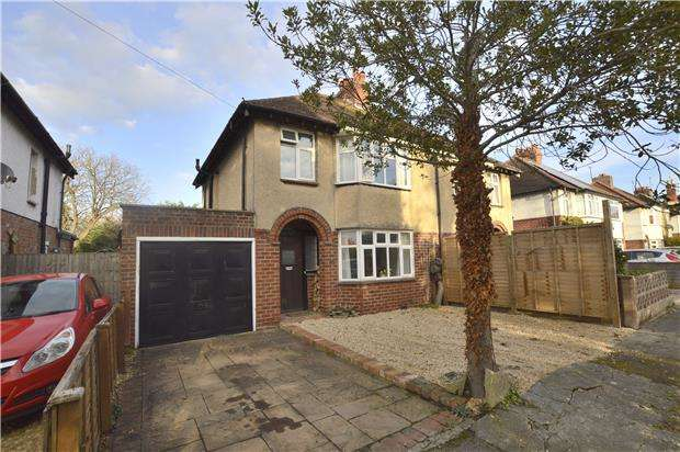 3 Bedrooms Semi Detached House for sale in New Barn Lane, CHELTENHAM, Gloucestershire, GL52 3LB
