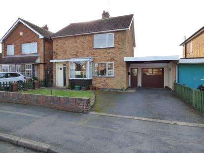 3 Bedrooms Detached House for sale in Welbeck Close, Blaby, Leicester, Leicestershire