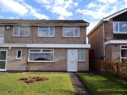 3 Bedrooms Semi Detached House for sale in Blakesley Walk, Leicester
