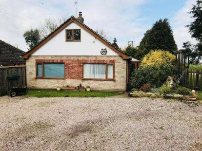 3 Bedrooms Bungalow for sale in Vicarage Lane, Wainfleet St Mary, Skegness, Lincolnshire