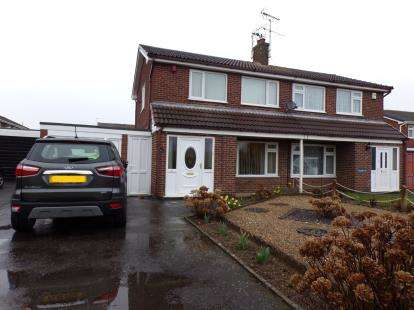 3 Bedrooms Semi Detached House for sale in Pembroke Avenue, Syston, Leicester, Leicestershire