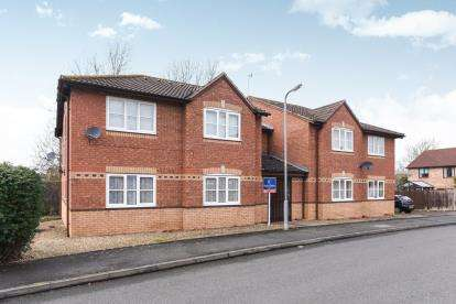 1 Bedroom Flat for sale in St. Patricks Close, Evesham, Worcestershire
