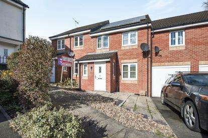 3 Bedrooms Terraced House for sale in The Forge, Hempsted, Gloucester, Gloucestershire