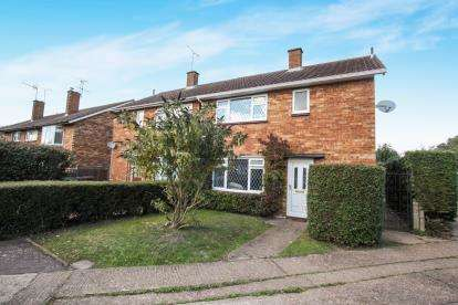 3 Bedrooms Semi Detached House for sale in Hampden Place, Frogmore, St. Albans, Hertfordshire