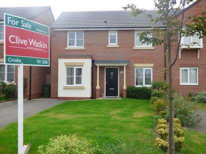 3 Bedrooms Semi Detached House for sale in Willard Drive, Bootle, Liverpool, L20