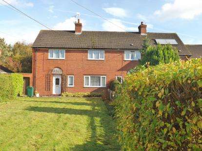 3 Bedrooms Semi Detached House for sale in Stanney Lane, Little Stanney, Chester, Cheshire, CH2