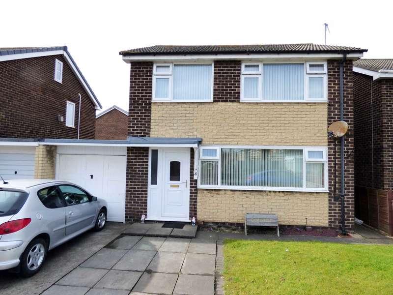 3 Bedrooms Link Detached House for sale in Birkdale Road, New Marske