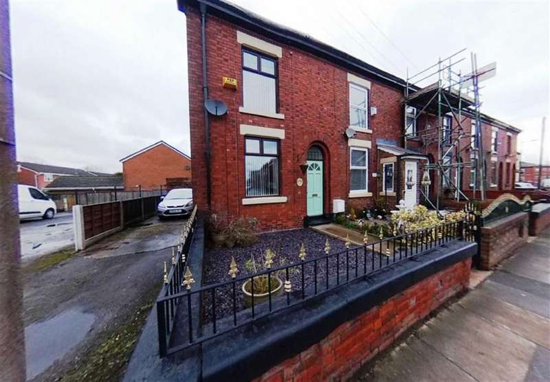 3 Bedrooms End Of Terrace House for sale in Moorside Street, Droylsden, Manchester