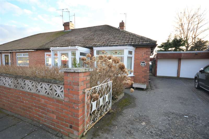 2 Bedrooms Bungalow for sale in Windsor Gardens, Shildon, DL4 1NA