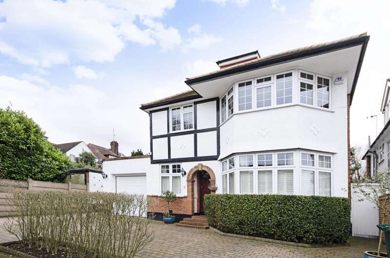 5 Bedrooms House for sale in Elmcroft Avenue, Golders Green, NW11