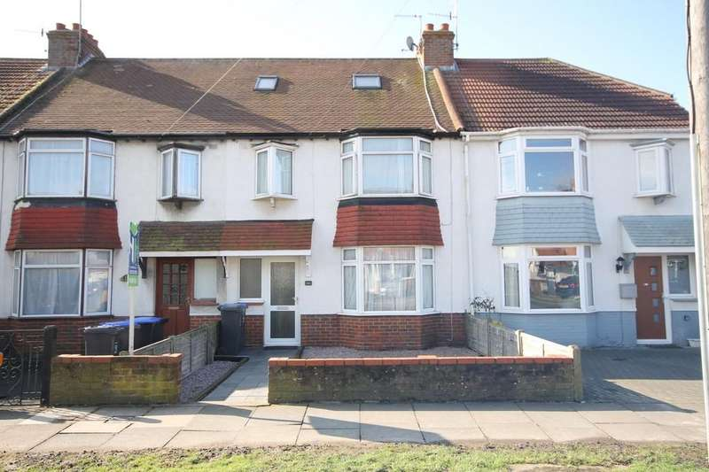 3 Bedrooms Terraced House for sale in Manor Hall Road, Southwick