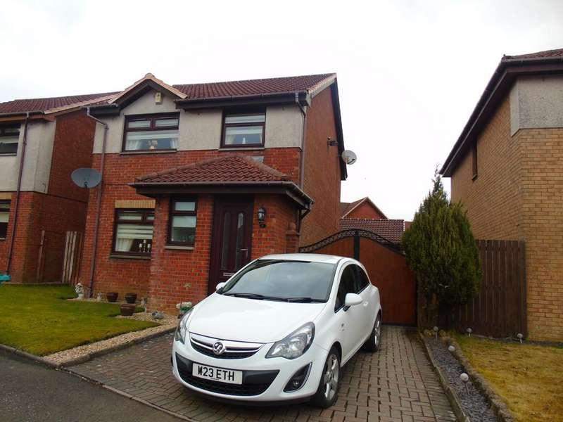 3 Bedrooms Detached House for sale in Castlehill Crescent, Chapelhall, Airdrie, ML6