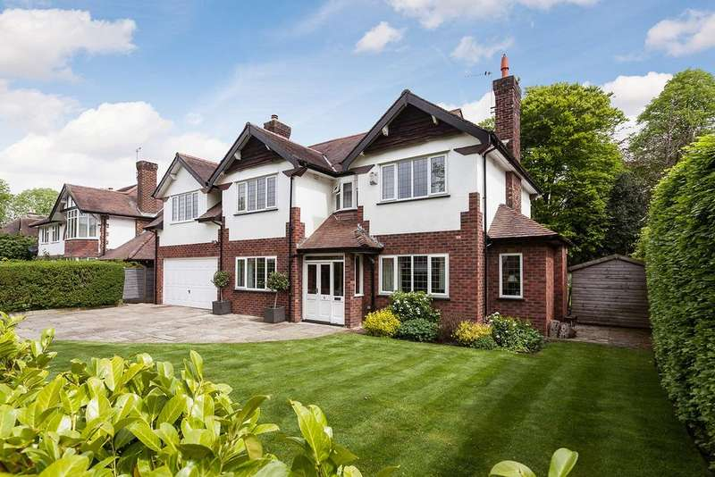 5 Bedrooms Detached House for sale in Carrwood Road, Wilmslow
