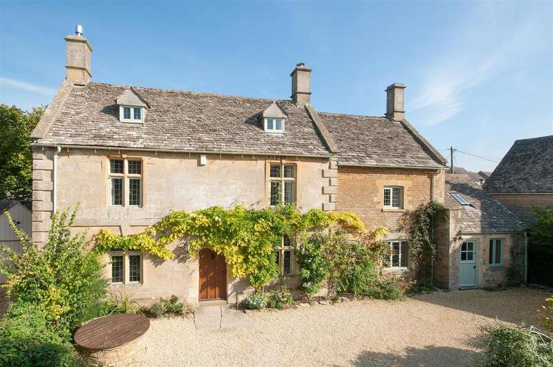 5 Bedrooms Country House Character Property for sale in Little Rissington, Gloucestershire