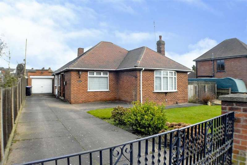 2 Bedrooms Detached Bungalow for sale in Cowpasture Lane, Sutton-In-Ashfield