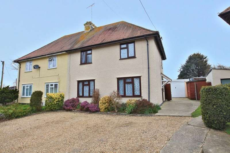 3 Bedrooms Semi Detached House for sale in Wix Road, Ramsey, Harwich