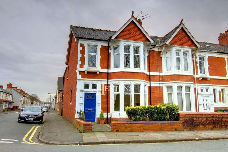 4 Bedrooms End Of Terrace House for rent in Victoria Park Road East, Victoria Park, Cardiff