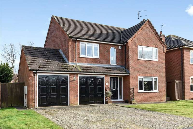 4 Bedrooms Detached House for sale in Lavender Drive, Spalding, PE11