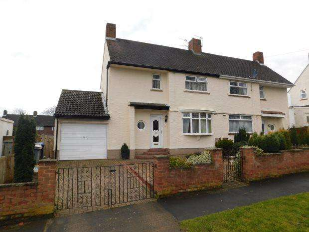 2 Bedrooms Semi Detached House for sale in FIR AVENUE, BRANDON, DURHAM CITY : VILLAGES WEST OF
