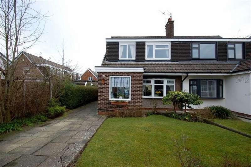3 Bedrooms Semi Detached House for sale in Sunningdale Drive, Bramhall, Cheshire